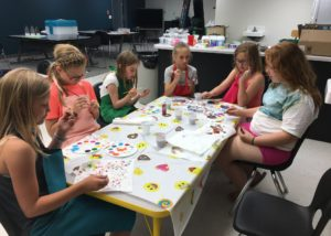 Summer fun book camp